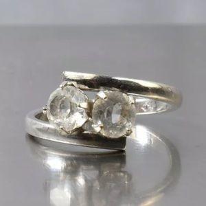🎀5/$25 sale!18kt HGP Cz Ring